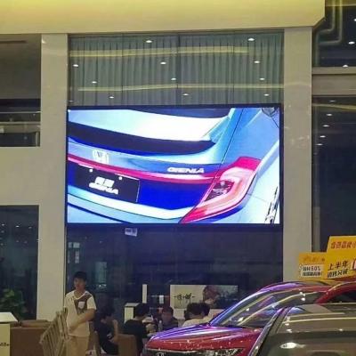 4S店室内展示显示屏